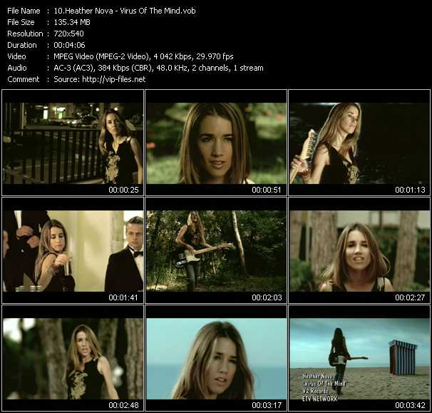 Heather Nova video screenshot