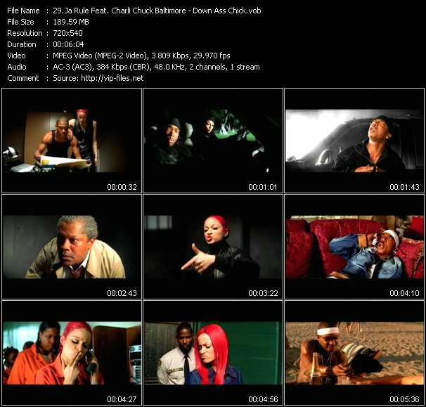Ja Rule Feat. Charli Chuck Baltimore video screenshot