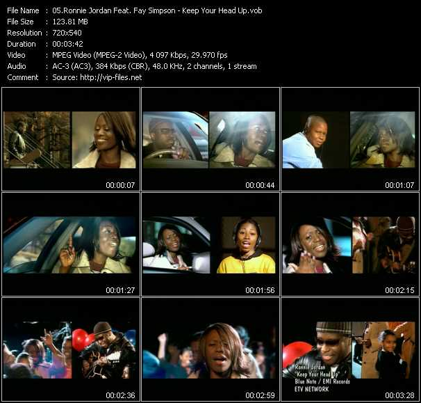 Ronnie Jordan Feat. Fay Simpson video screenshot