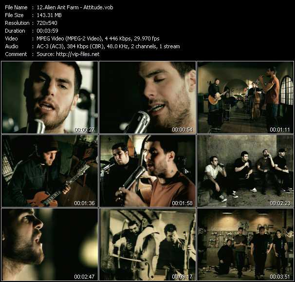 Alien Ant Farm video screenshot