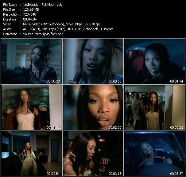 Brandy video screenshot