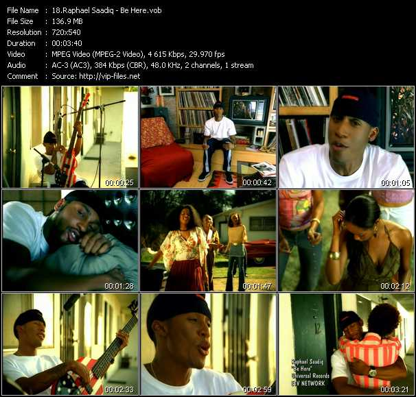 Raphael Saadiq video screenshot