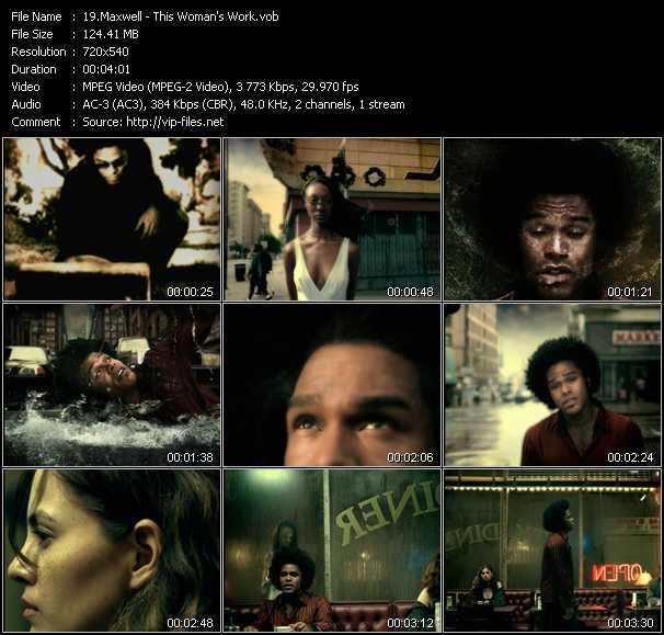 Maxwell video screenshot