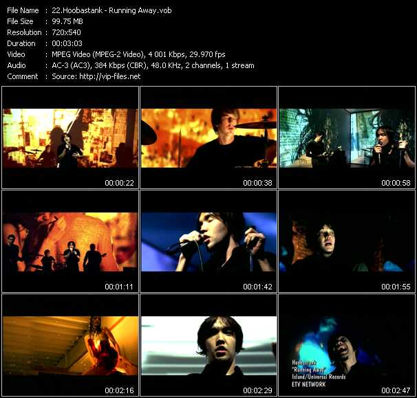 Hoobastank video screenshot