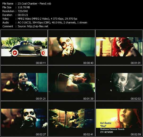 Coal Chamber video screenshot