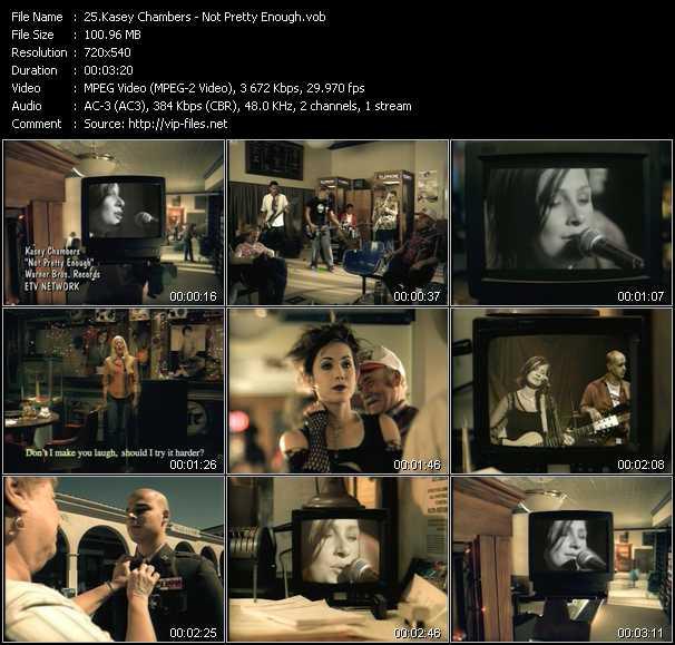 Kasey Chambers video screenshot