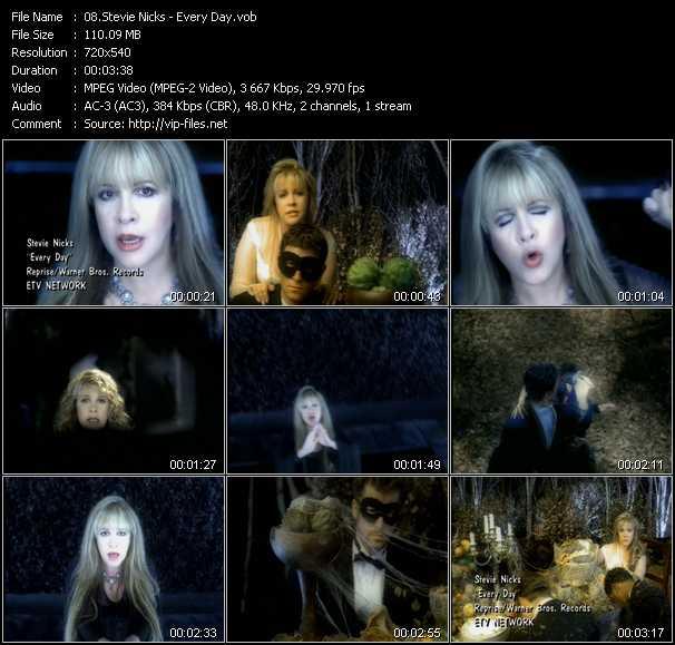Stevie Nicks video screenshot