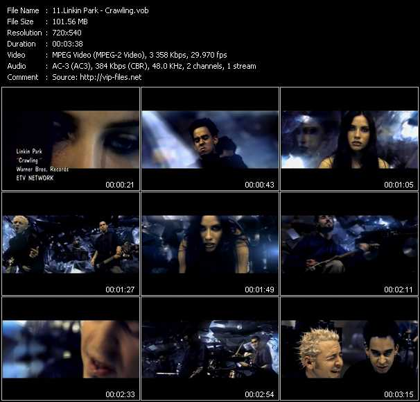 Linkin Park video screenshot