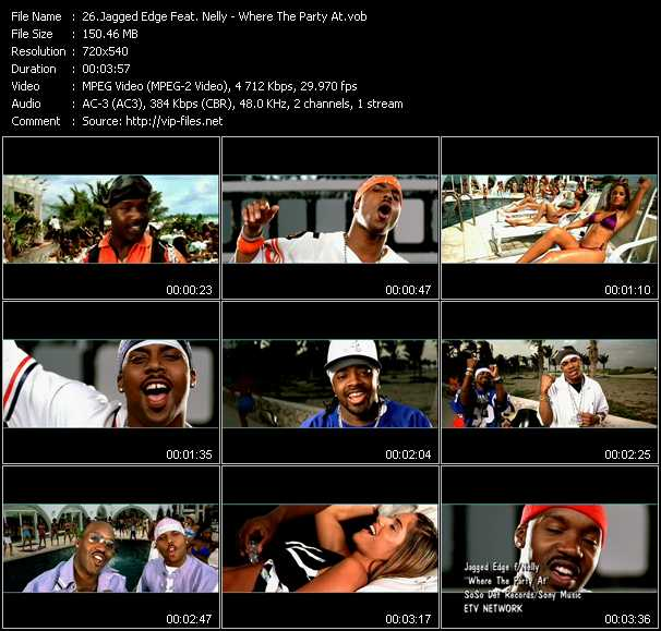 Jagged Edge Feat. Nelly video screenshot