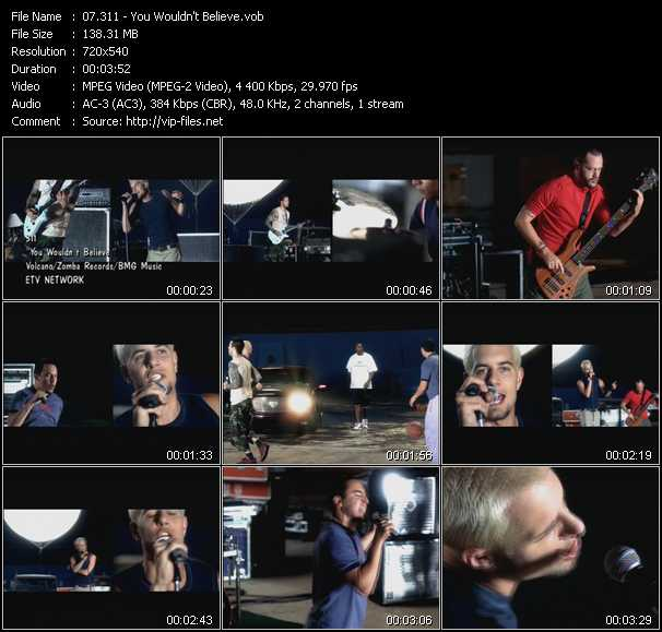 311 video screenshot