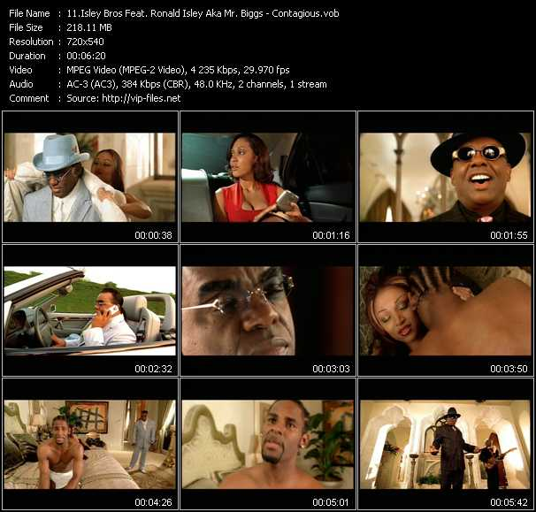 Isley Bros Feat. Ronald Isley Aka Mr. Biggs video screenshot