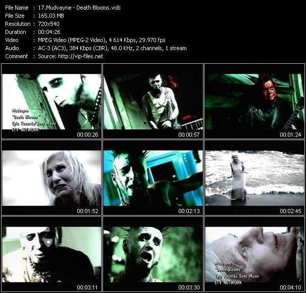 Mudvayne video screenshot