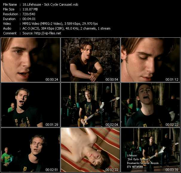 Lifehouse video screenshot
