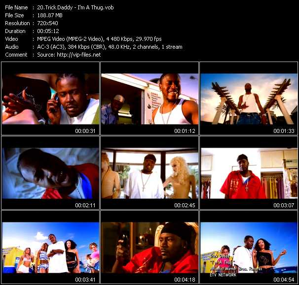 Trick Daddy video screenshot