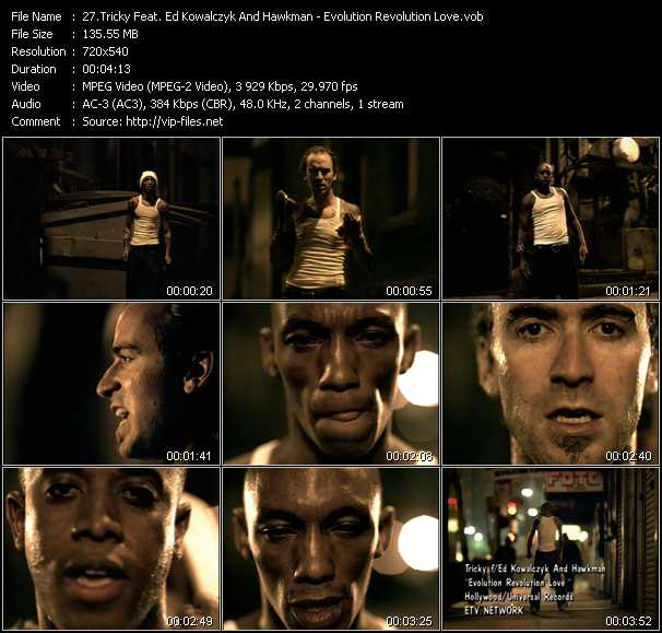 Tricky Feat. Ed Kowalczyk And Hawkman video screenshot