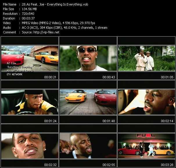 Az Feat. Joe video screenshot