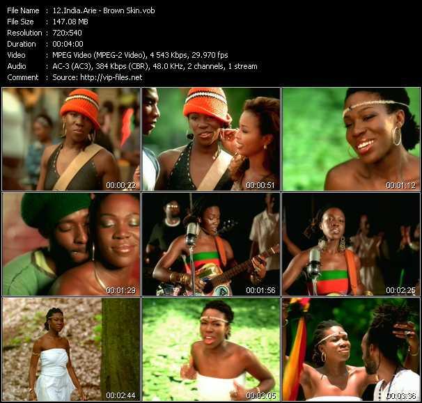 India.Arie video screenshot