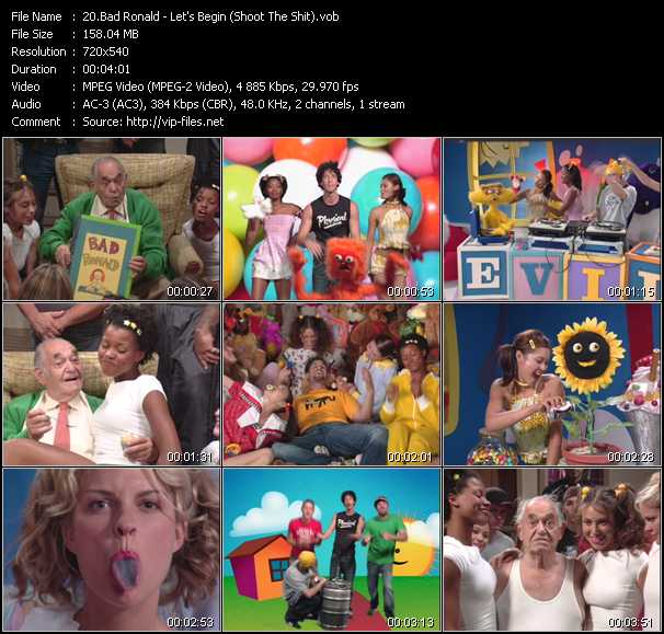 Bad Ronald video screenshot
