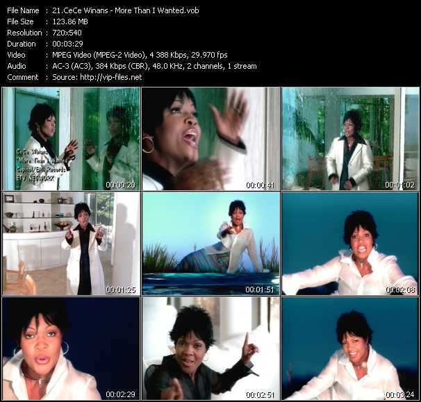 CeCe Winans video screenshot
