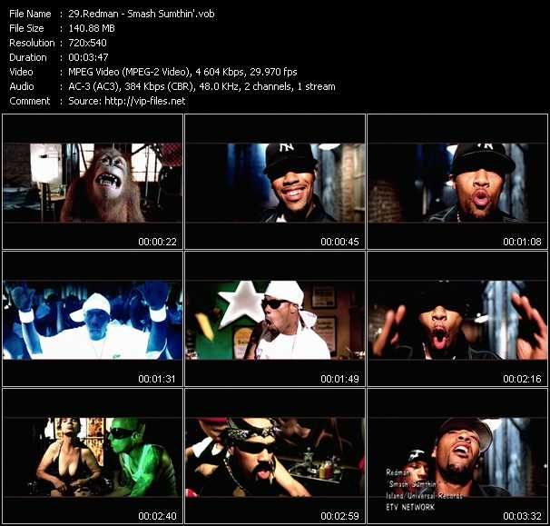 Redman video screenshot