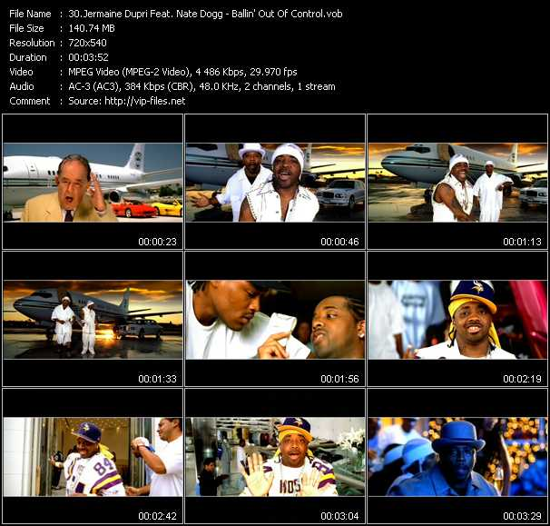 Jermaine Dupri Feat. Nate Dogg video screenshot