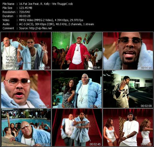 Fat Joe Feat. R. Kelly video screenshot