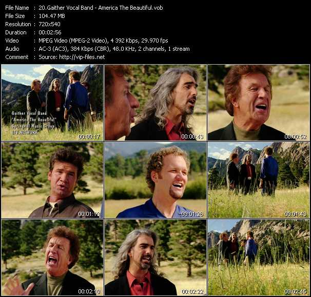 Gaither Vocal Band video screenshot