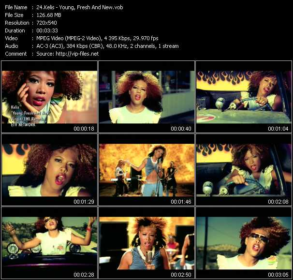 Kelis video screenshot