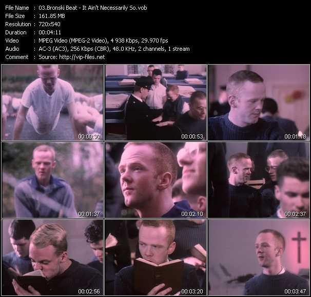 Bronski Beat video screenshot