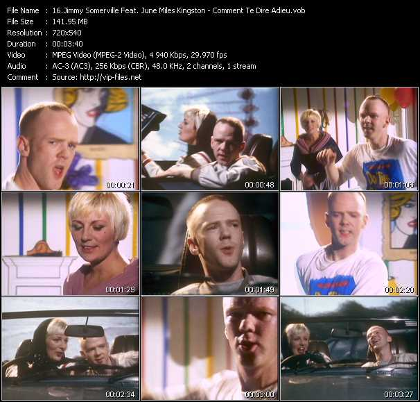 Jimmy Somerville Feat. June Miles Kingston video screenshot