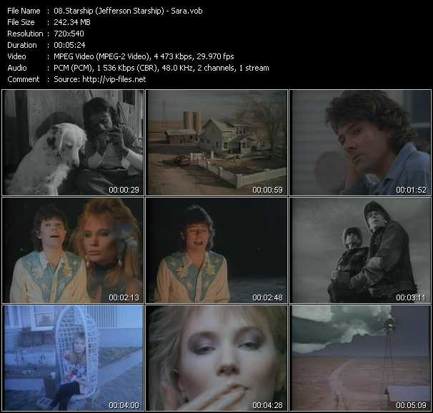 Starship (Jefferson Starship) video screenshot