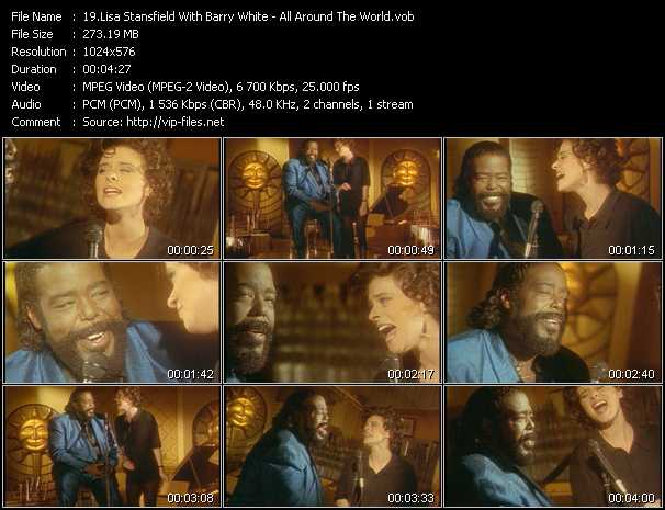 Lisa Stansfield With Barry White video screenshot