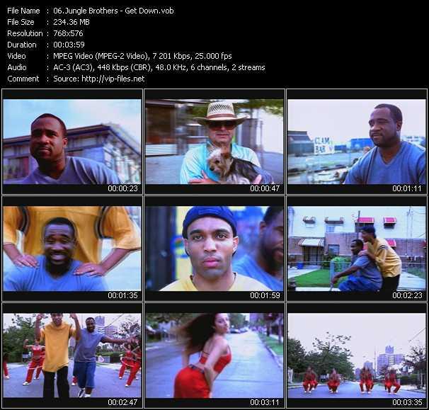 Jungle Brothers video screenshot