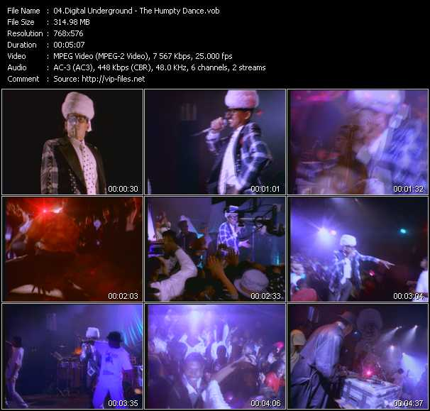Digital Underground video screenshot