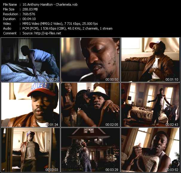 Anthony Hamilton video screenshot