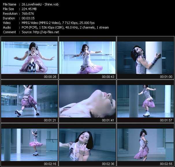 Lovefreekz video screenshot