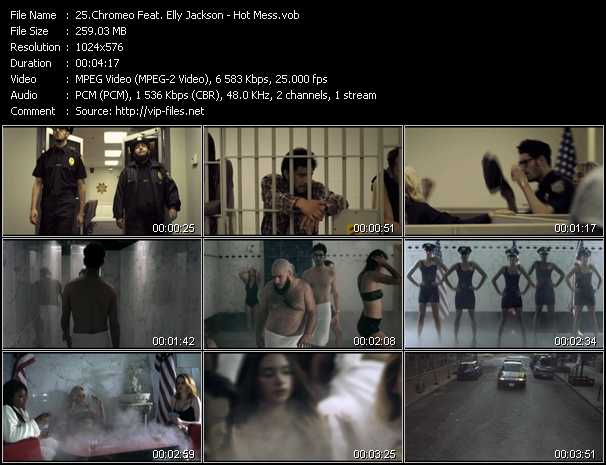 Chromeo Feat. Elly Jackson video screenshot