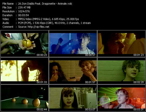 Don Diablo Feat. Dragonette video screenshot