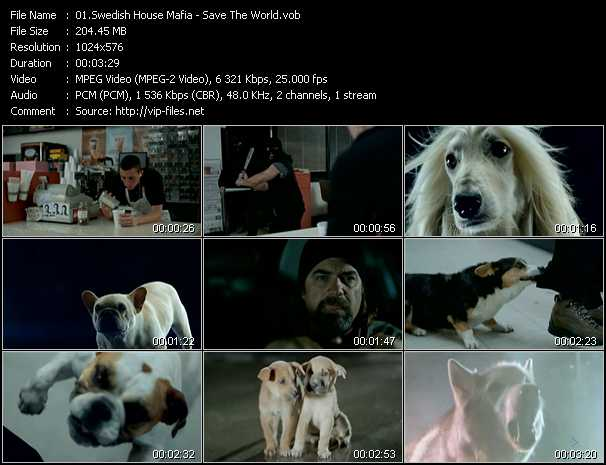 Swedish House Mafia video screenshot
