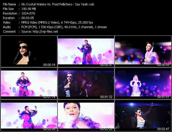Crystal Waters Vs. Fred Pellichero video screenshot