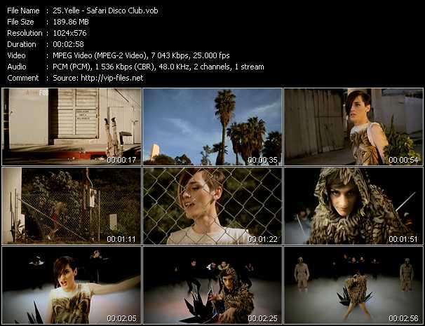 Yelle video screenshot