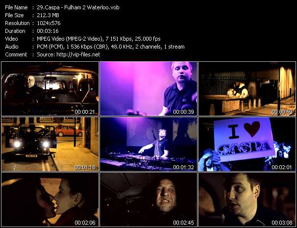 Caspa video screenshot