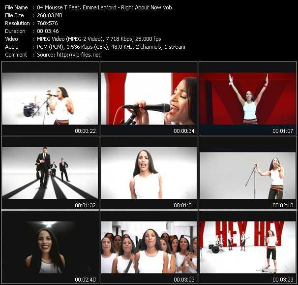 Mousse T. Feat. Emma Lanford video screenshot