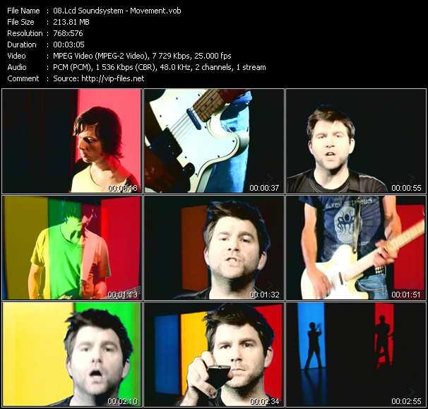 Lcd Soundsystem video screenshot