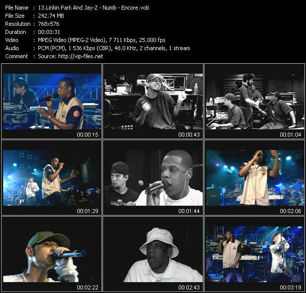 Linkin Park And Jay-Z video screenshot