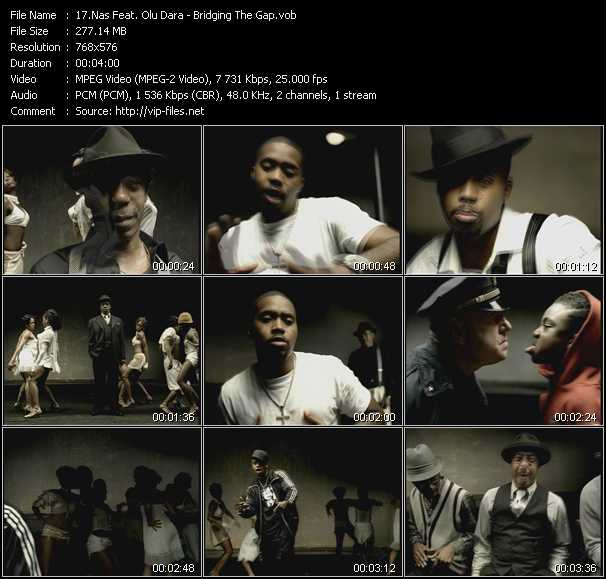 Nas Feat. Olu Dara video screenshot