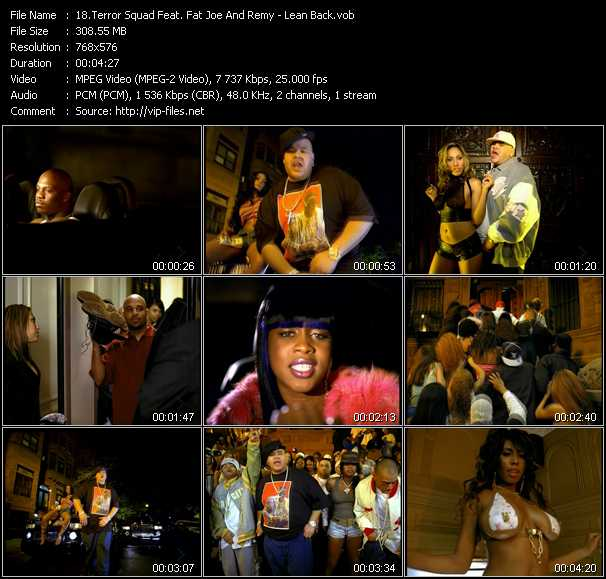 Terror Squad Feat. Fat Joe And Remy video screenshot