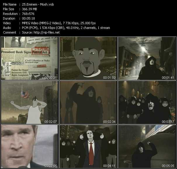 Eminem video screenshot