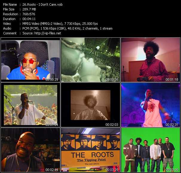 Roots video screenshot