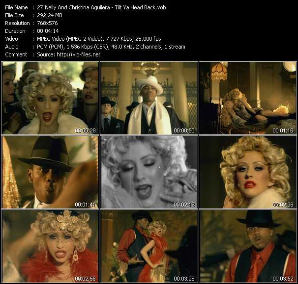 Nelly And Christina Aguilera video screenshot